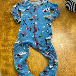 Hatley zip-up footie pajamas size 12-18 months